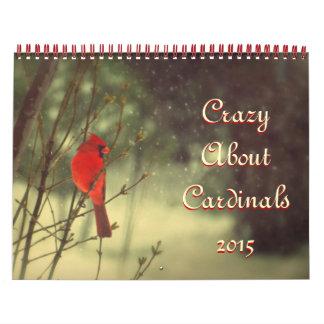Cardinal Photo 2015 Calendar