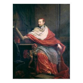 Cardinal Pierre de Berulle Postcard