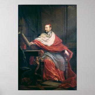 Cardinal Pierre de Berulle Print