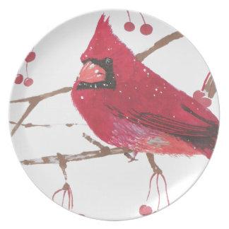 Cardinal Plato De Cena