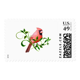 Cardinal Postage Stamp