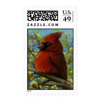 cardinal postage stamps