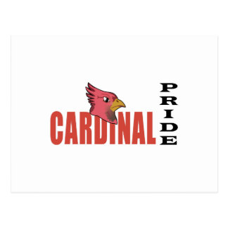 CARDINAL PRIDE POSTCARD