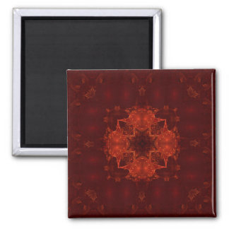 Cardinal Red 12 Fridge Magnet