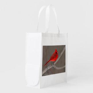 Cardinal Reusable Grocery Bag
