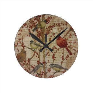 Cardinal Round Wallclocks