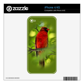 Cardinal Skins For The iPhone 4S