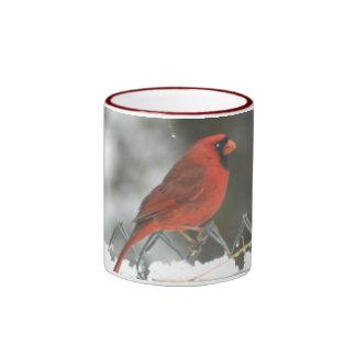 Cardinal Snow Mug