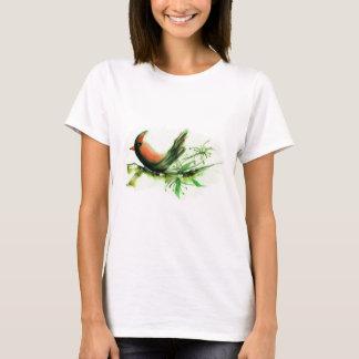 Cardinal - Sumi-e ink painting T-Shirt