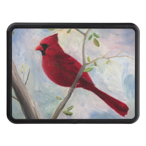Cardinal Trailer Hitch Cover