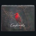 "Cardinal Wall Calendar<br><div class=""desc"">Enjoy these stunning photos of nature&#39;s most beautiful red bird all year long. A new captivating cardinal photo awaits you each month.</div>"