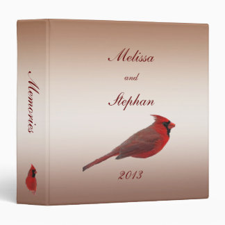 Cardinal Wedding Album Binder