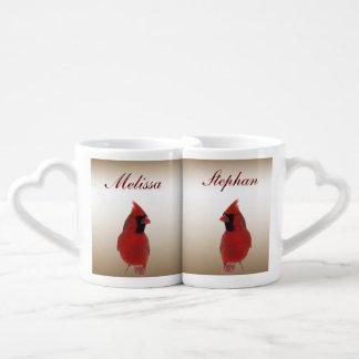 Cardinal Wedding Lovers Mugs