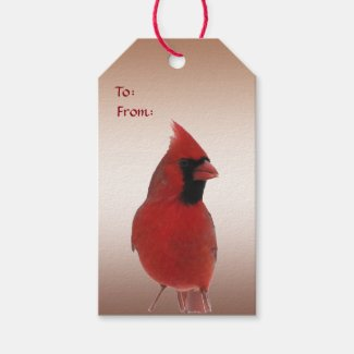 Cardinal Wedding Pack of Gift Tags