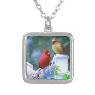 Cardinals and Christmas Lights Jewelry