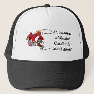 Cardinals basketball script baseball cap
