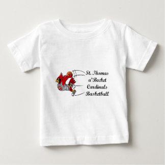 Cardinals basketball script infant t-shirt