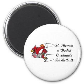 Cardinals basketball script magnet