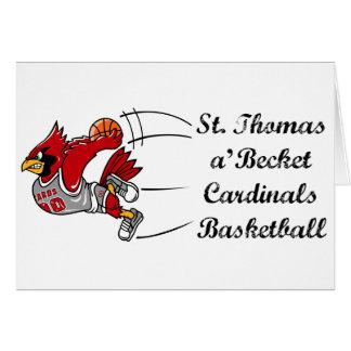 Cardinals basketball script notecard cards