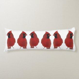 Cardinals Body Pillow