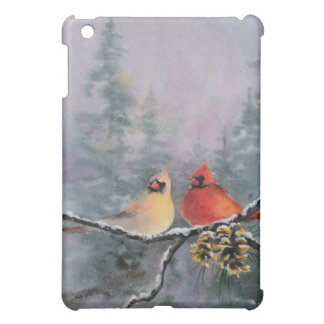 CARDINALS by SHARON SHARPE iPad Mini Cases