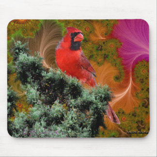 Cardinals Dreams Mouse Pad