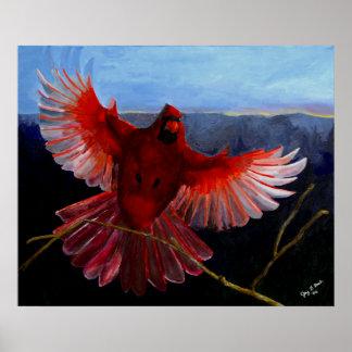 Cardinal's Glory Poster