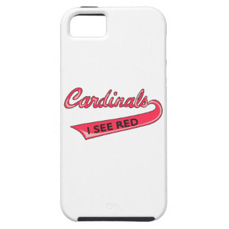 Cardinals I See Red iPhone 5 Covers