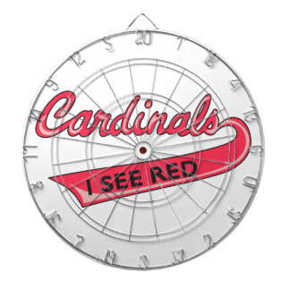 Cardinals I See Red Dartboards