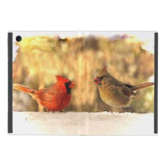 Cardinals in Autumn iPad Mini Case