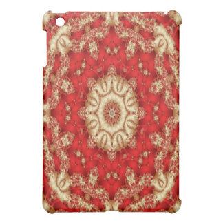 Cardinals Lace Kaleidoscope Design No.01 iPad Case