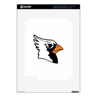 Cardinals Mascot iPad 3 Decals