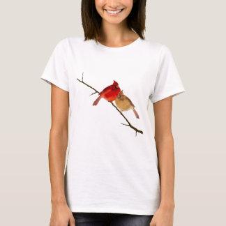 cardinals on a branch T-Shirt