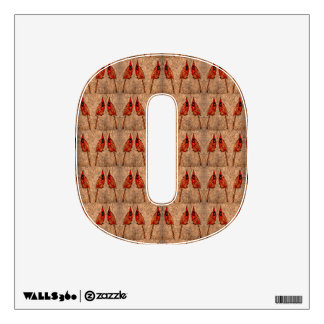 Cardinals Pattern Wall Sticker