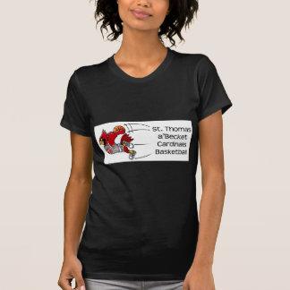 Cardinals print dark women's t-shirt