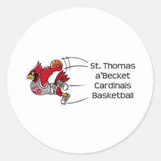 Cardinals print sticker