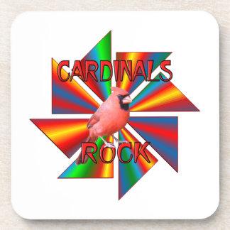 Cardinals Rock Beverage Coasters