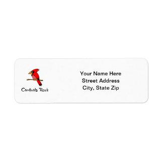 Cardinals Rock Label