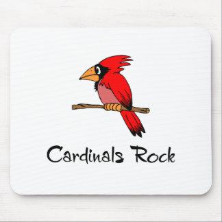 Cardinals Rock Mouse Pad