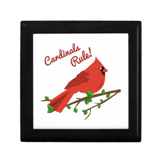 Cardinals Rule Trinket Boxes