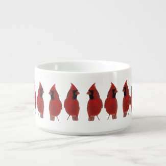 Cardinals Soup Bowl Chili Bowl