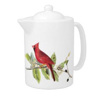 Cardinals Tea Pot at Zazzle