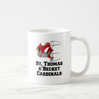 Cardinals with athletic font coffee mug