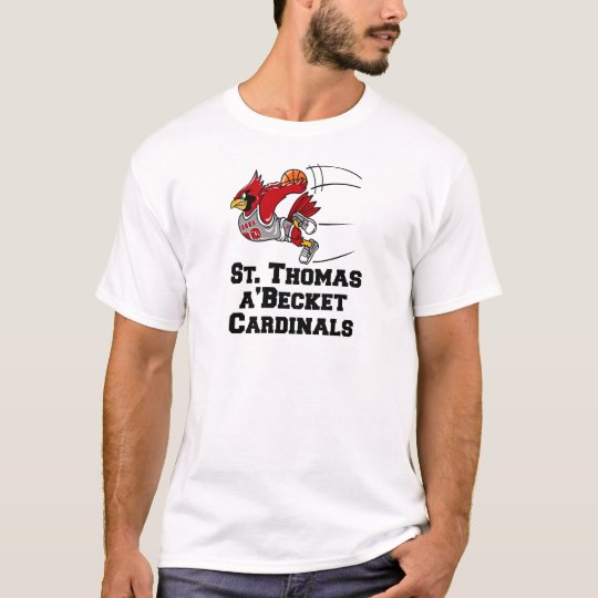 Cardinals with athletic font T-Shirt