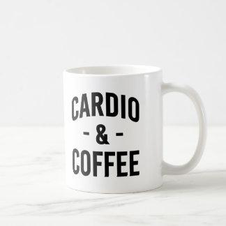 Cardio and Coffee funny workout fitness Coffee Mug