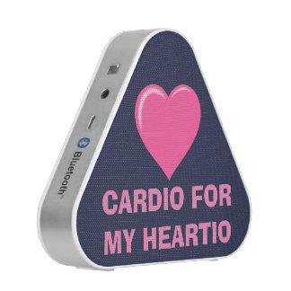 Cardio For My Heartio Fitness Bluetooth Speaker