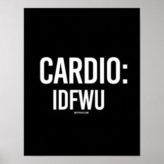 Cardio - IDFWU -   Training Fitness -.png Poster