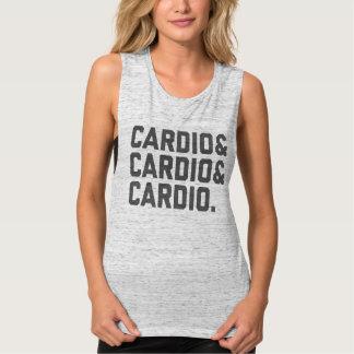 Cardio & List Flowy Muscle Tank Top