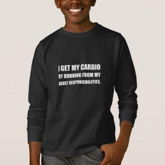 Cardio Running From Responsibilities T-Shirt