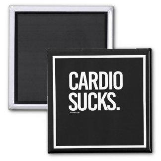 Cardio Sucks -   - Gym Humor -.png Magnet
